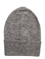 Mohair hat - GREY