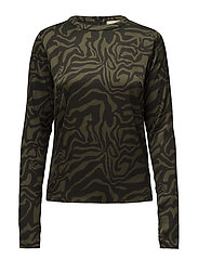 Safari tube blouse - ARMY
