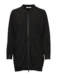 Lustre bomber jacket - BLACK