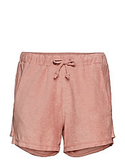 Towelling shorts - FADED PINK
