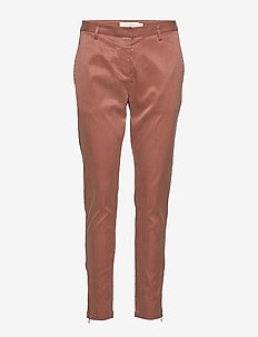Relaxed fit pant - COPPER BROWN