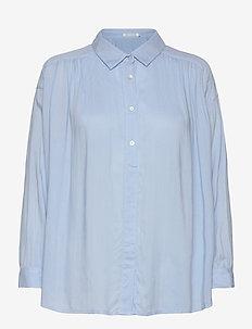 Loulou - koszule z długimi rękawami - light blue