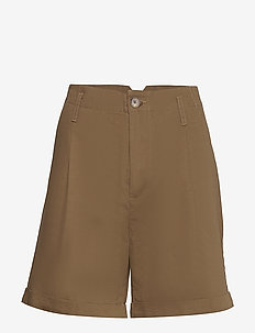Emme - chino-shorts - tobacco
