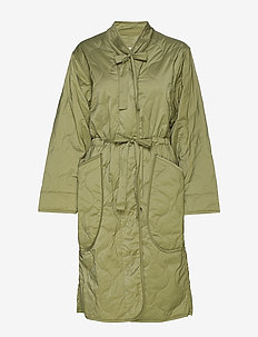 Hermina - cienkie płaszcze - green
