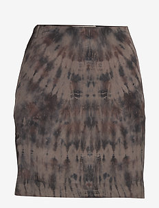 Laisa - pencil skirts - brown/faded black