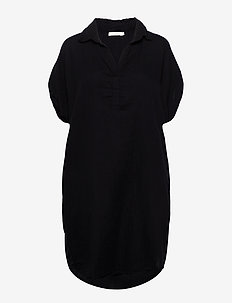 Abinaya - shirt dresses - black