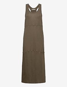 Aska - maxi dresses - moss green