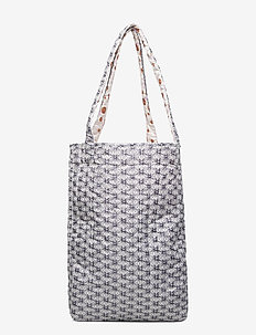 Caisa - shoppers - graphic blue