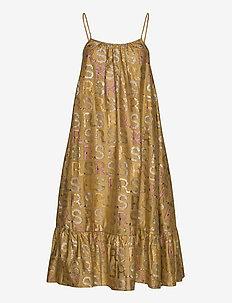 Carolin - midi kjoler - rainbow sparkle