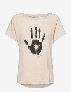 Filina - logo t-shirts - vanilla