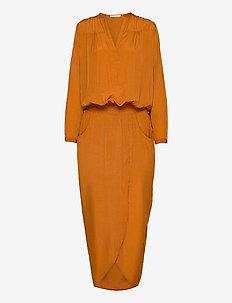 Ebon - midi dresses - amber