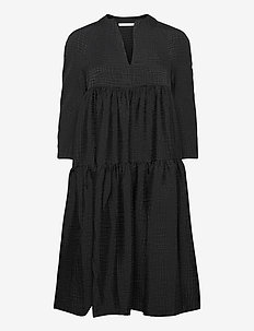 Hariet - sukienki do kolan i midi - black
