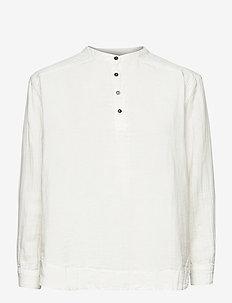 Carita - long-sleeved shirts - white