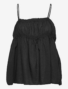 Hailey - blouses sans manches - black