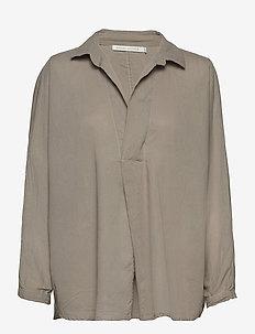 Jojo - langærmede skjorter - mink grey