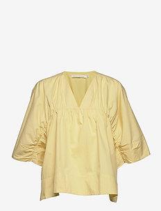 Ines - blouses à manches courtes - bone