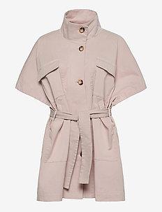Bianca - trenchcoats - off white