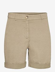 Calina - chino shorts - army