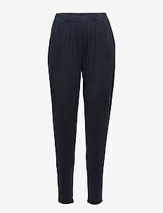 Curved pant - casual byxor - blue iris