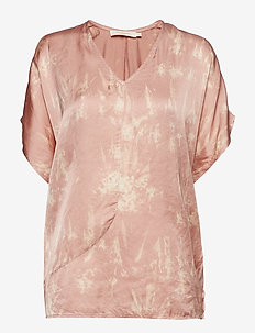 Wave asymmetric top - BLUSH COMBO