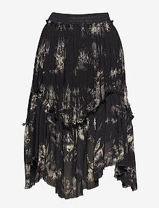 Wave skirt - BLACK COMBO