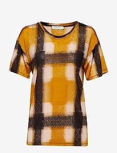 Geometric T-shirt - YELLOW