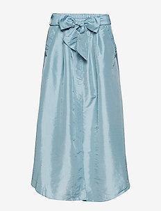 Tafetta skirt - PALE BLUE