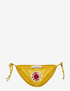 Sunset bikini string panties - SAFFRON