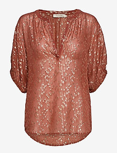 Starburst blouse - FADED BLUSH