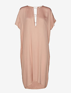 Barre short dress - LATTE