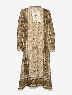 Trellis dress - FOREST