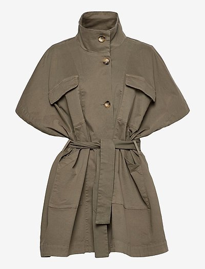 Bianca - trench coats - army