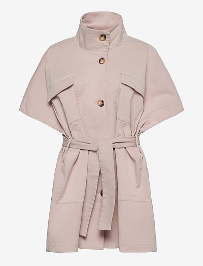 Bianca - trench coats - off white