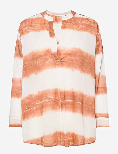 Kirsten - long-sleeved shirts - copper