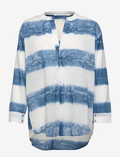 Kirsten - long-sleeved shirts - indigo blue