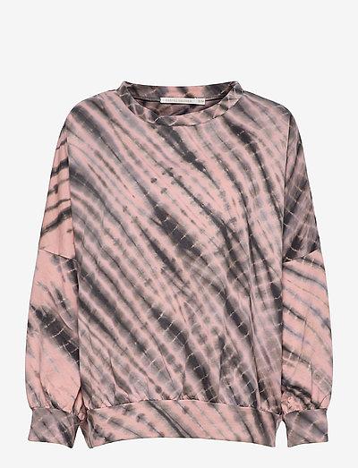 Kia - sweatshirts & hoodies - pink/grey combo