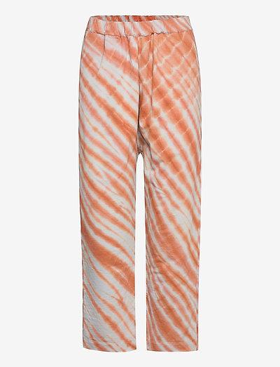 Lana - casual trousers - rust combo