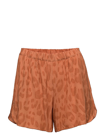 Bright leopard shorts - SUNSET