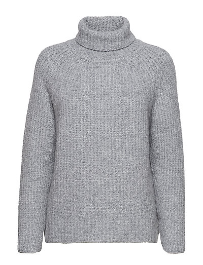 Soft rib FN sweater - GREY