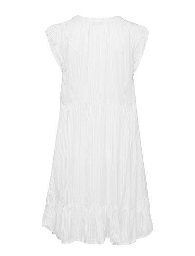 88675570 Lurex Stripe S Sl Short Dress (White Sand) (1428 kr) - Rabens ...