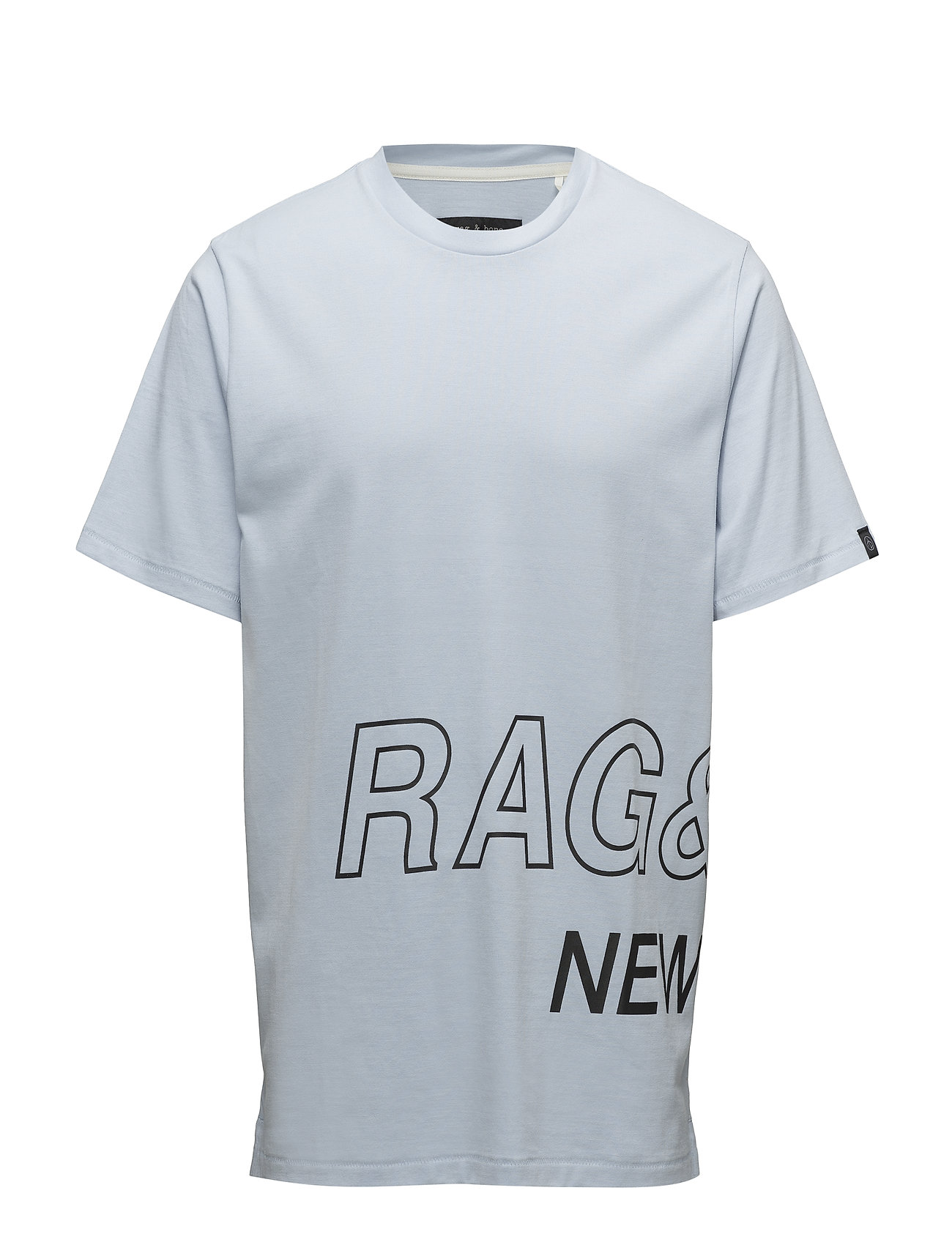 Image of Rb Wrap Around Tee T-shirt Blå RAG & B (3056971891)