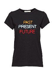 PAST PRESENT FUTURE TEE - BLK