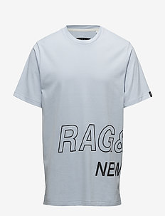 RB WRAP AROUND TEE - PALE PERWNKL