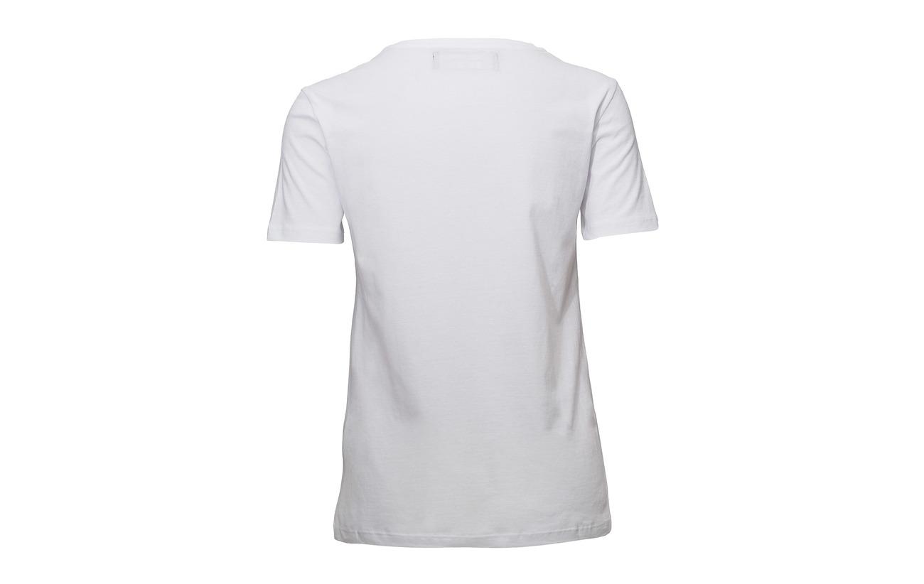 White shirt T 100 Raiine Organiccotton Paso wzEntqpxSF