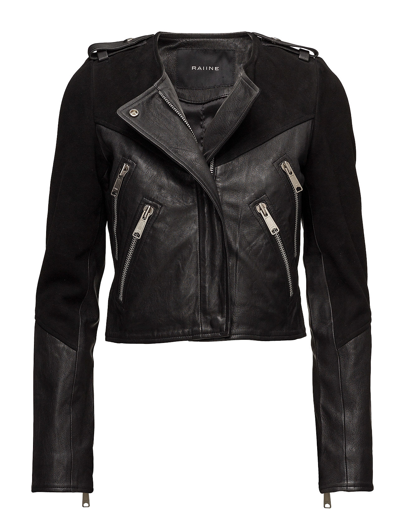 Image of Clarita Leather Jacket (2962410655)