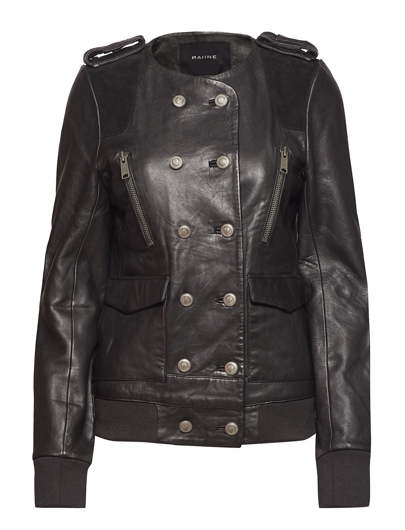 Image of Taos Leather Jacket (3072435091)