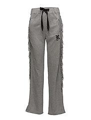 KNIGHT SWEAT PANTS - GREY MELANGE