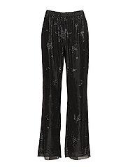 SHARON PANTS - BLACK STAR SEQUIN