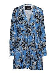 ALAMEDA MINI DRESS - REGATTA BLUE