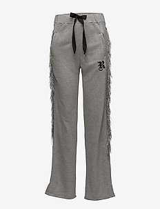 KNIGHT SWEAT PANTS - sweatpants - grey melange